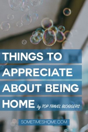 Pin for home appreciation topic with serene bubbles!